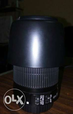 Lens Canon 55 - 250 For Sale بولاق الدكرور -  2