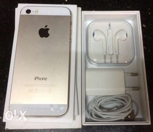 iPhone 5s gold new zeroo