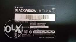 أفضل جيمنج كيبورد : Razer BlackWidow mechanical gaming ultimate