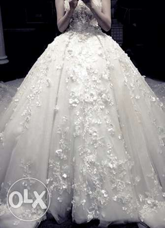 New Amazing Floral Wedding Dress