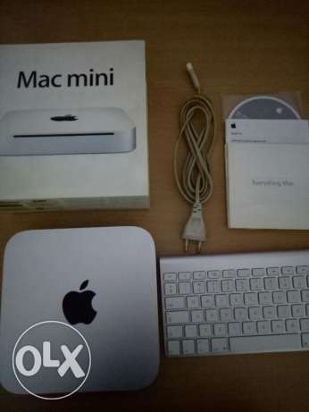 Mac mini 2010 with wireless keyboard