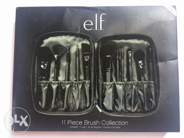 11 Piece Brush Collection ELF USA professional الشيخ زايد -  1