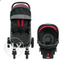 Travel System Graco: Stroller Plus Car Seat
