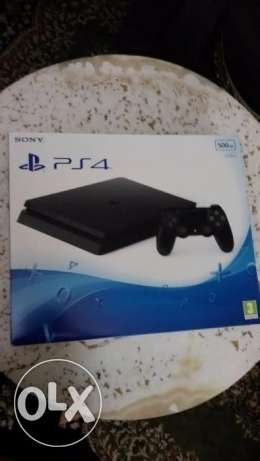 ps4 slim 500 gb new