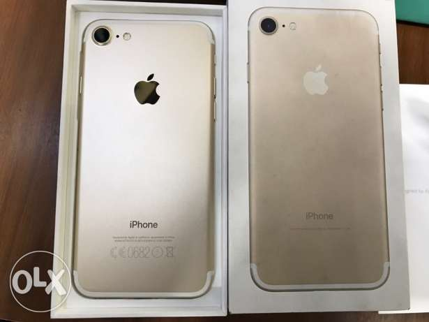 iPhone 7 Gold 32G/Very Good Condition/All accessories / With warranty