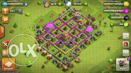 Clash of clans town hall lvl 7