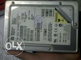 هارد western digital 20.5GB