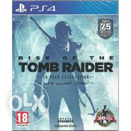 مطلوب rise of the tomb raider ps4 عربي account او cd