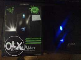 Razer Deathadder gaming mouse LEFT handed