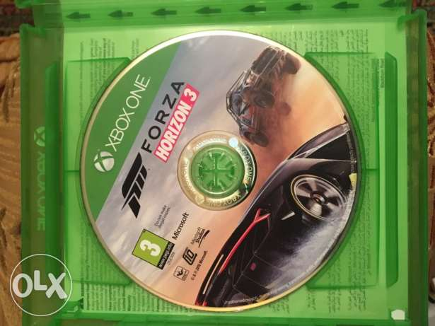 forza horizon 3 Xbox one like new