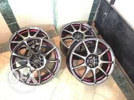 جنوط استيراد 10 خرم نيكل كروم chrome rims