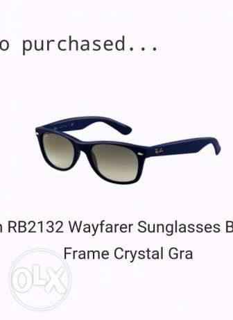 Ray-ban sunglasses 400g or 25$ مصر الجديدة -  1