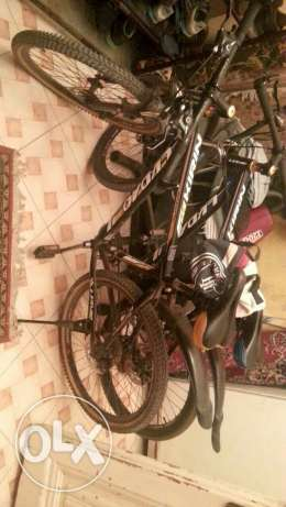 Mountain bike from italy