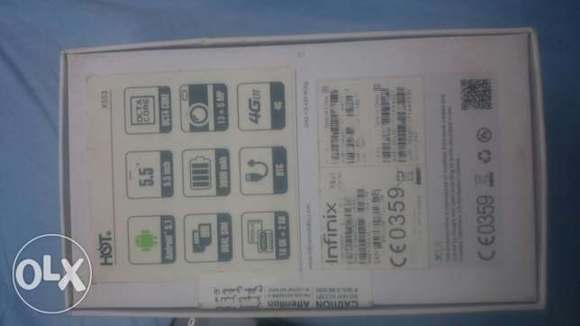 .infinx hot3 lte طوخ -  2
