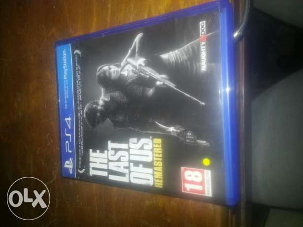 PS4 game THE LAST OF US for sale or exchange