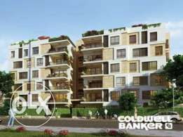 Apartment located in New Cairo for sale 187 m2, 2 bathrooms, 3 bedroom