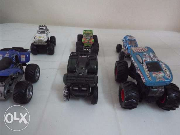 Bigfoot car die cast scale model used collection