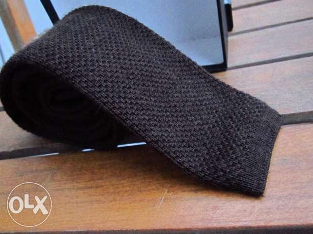Brown Tie -Boss usa المعادي -  2