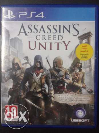 Assassin creed unity limited edition ps4