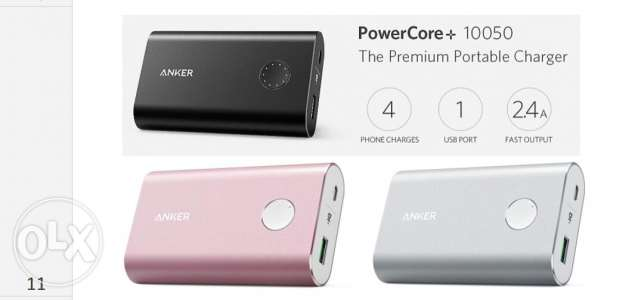Powerbank anker 10050 mah