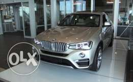 BMW X4 2017 zero silver color