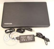 لابتوب Toshiba Satellite C55 15.6 Core i7 8GB Ram Windows 10