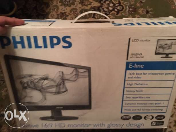 Philips 17' LCD monitor with box (nothing missing) سيدي جابر -  4