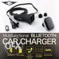 iSmile car dast charger with bluetooth earphone