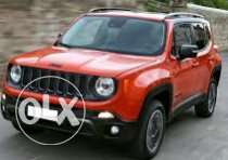 Jeep renegade 4*4 2016 قسط او كاش