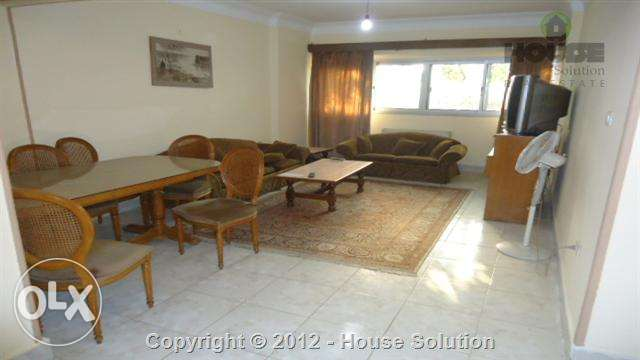 Furnished Flat For Rent In Degla