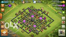 Clash of clan -9max