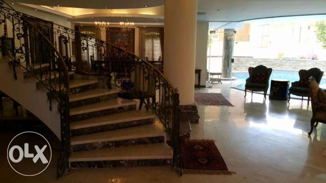 villa for sale in gharb el golf New Cairo fully finished