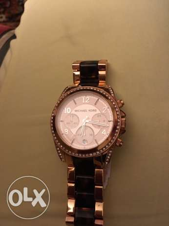 Michael Kors watch rose gold