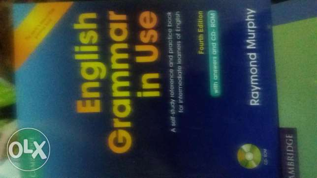 Book English grammar in use new