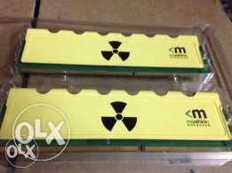 Mushkin Enhanced Radioactive 8GB (2 x 4GB) DDR3 1600
