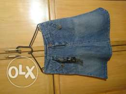 Jeans jupe