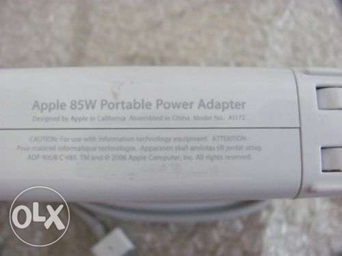 Original Macbook 85W Charger/Adapter شاحن ماك اورجينال