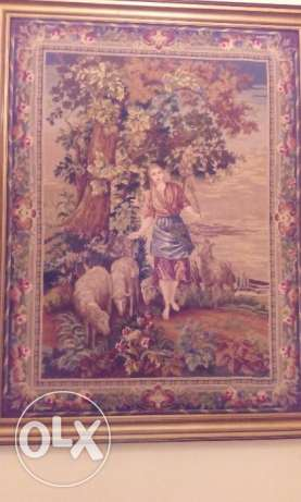 Tableaux Aubusson Hand Made - Made in France- For High walls