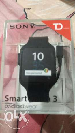 Sony smartwatch 3 , in box as new condition