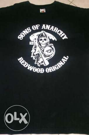 Sons Of Anarchy T-shirt For Sale