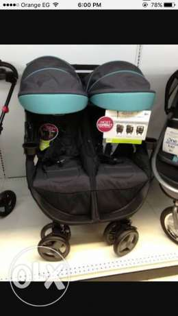 Graco double stroller New never been used مصر الجديدة -  1