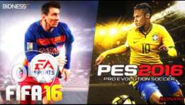 fifa 2016& pes 2016 for PS4
