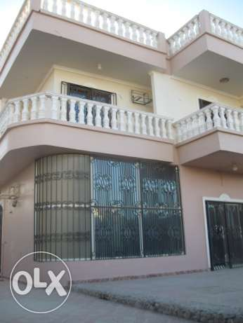 Half villa in Mubarak 7, with a swimming pool, 2 floors, 450 sqm