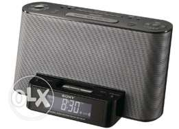 iPod and iPhone Dock Clock Radio