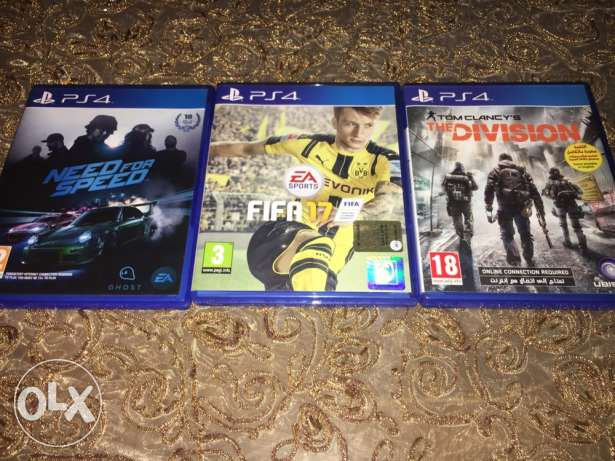 ( Fifa 17 ) & ( the division ) & ( need for speed )