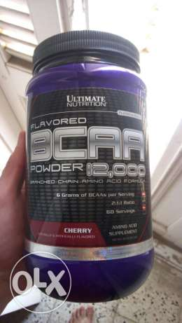 Ultimate bcaa 60 serving