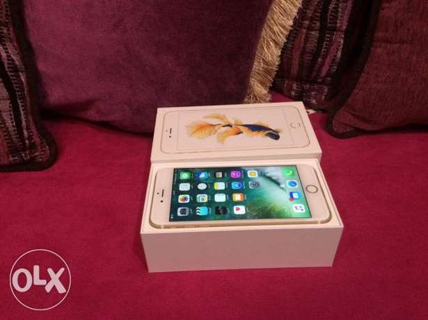 Iphone 6s pluse64gb gold
