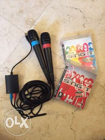 Sing it Game for PS3 with 2 Mics