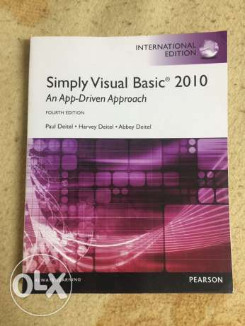 Visual Basic 2010 with CD