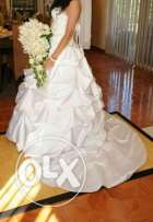 Wedding dress used only for one time